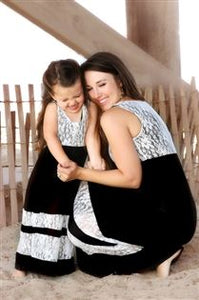 Mother/Daughter Matching Bohemia Dresses  (Various Color Options)