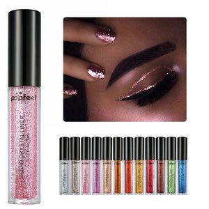 Long Lasting Waterproof Liquid Glitter Eyeliner (Assorted Colors)