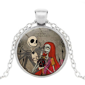 Caxybb Brand Nightmare Before Christmas jack skellington Necklace