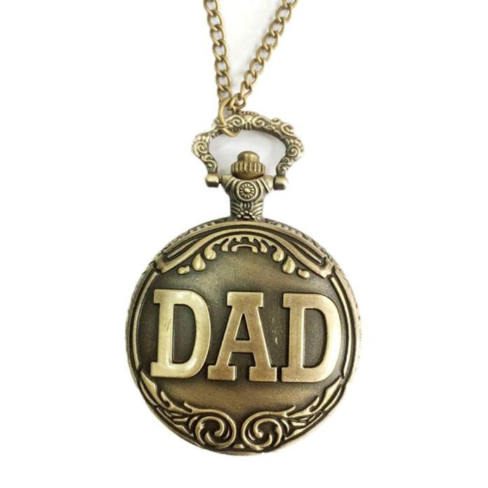 Great for father's day...dad pocket watch