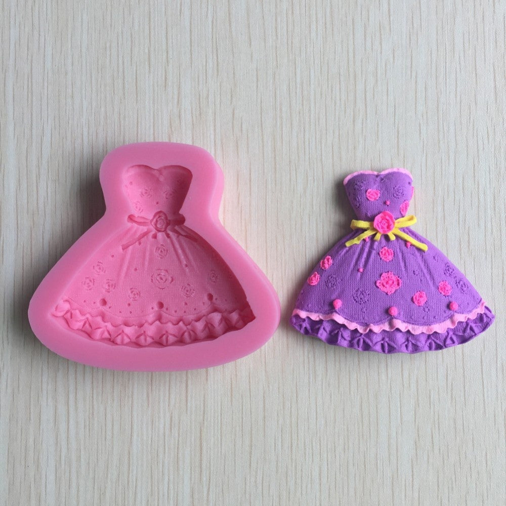 3D Silicone Dress Mold