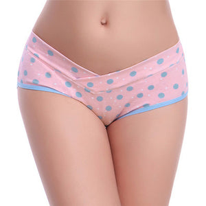 Cotton Low-Waist Pregnancy Panties