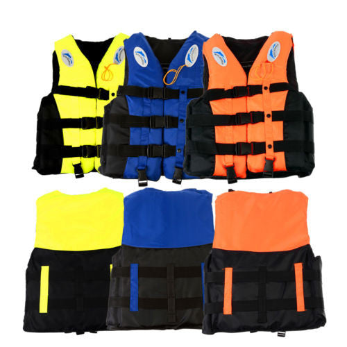 Swimming Polyester Foam Life Jacket Vest