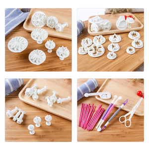 94pcs Fondant Cake Cutter Mold Set