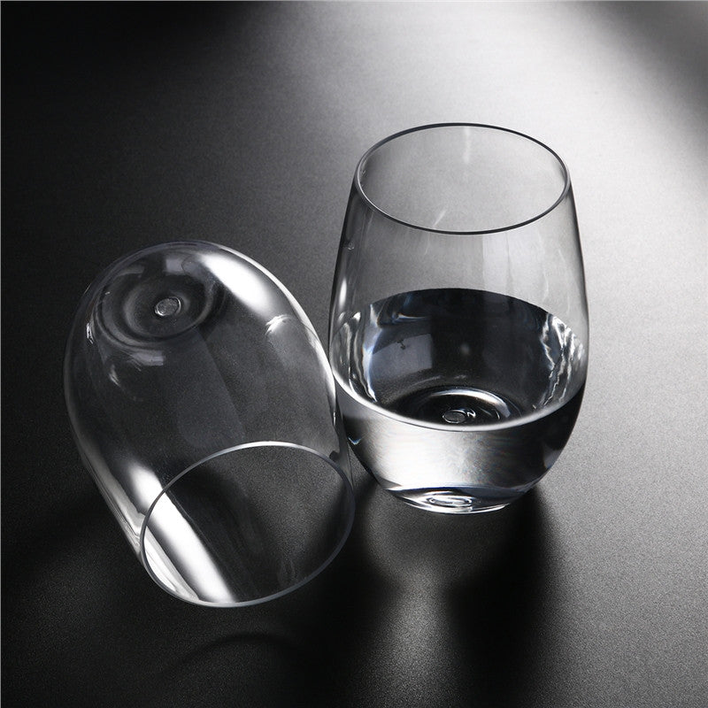 4pcs Shatterproof Wine Tumbler Glasses