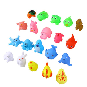20 Piece Bath Time Fun Mini Animals