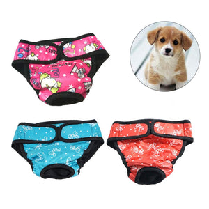 3 PCS Puppy/Dog Diapers