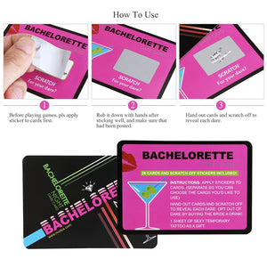 Bachelorette Scratch Off Party Game
