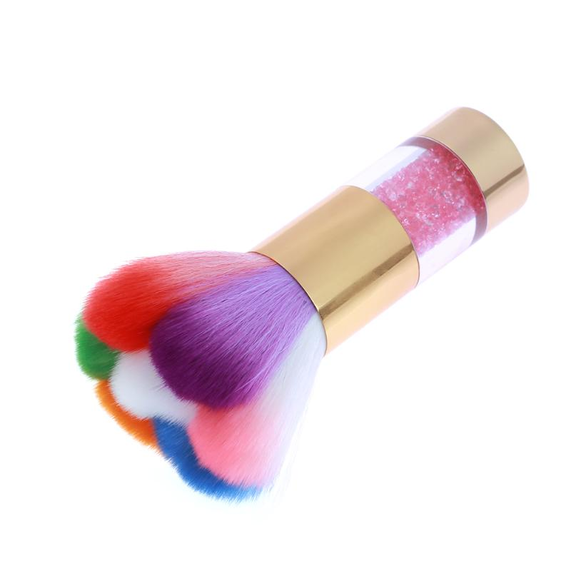 Colorful Nail Dust Brush