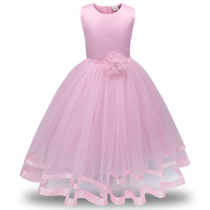 Flower Girl Princess Bridesmaid Pageant Tutu Tulle Gown Party Wedding Dress