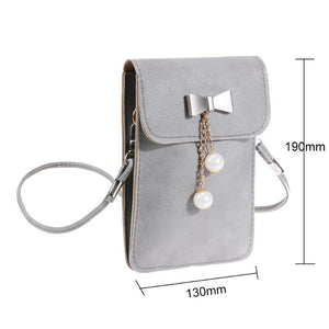 Bowknot Mobile Phone Bag
