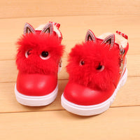 Children Fashion Boys Girls Sneaker Boots Kids Warm Baby Casual Shoes
