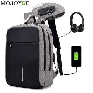 USB Charge and Headphone Jack Backpack (Assorted Colors)