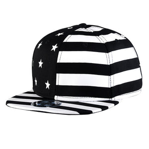 Stars & Stripes Snapback Hat