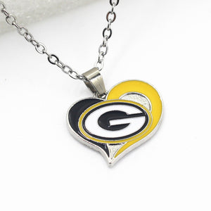 Packers Pendant Necklace (Assorted Designs)