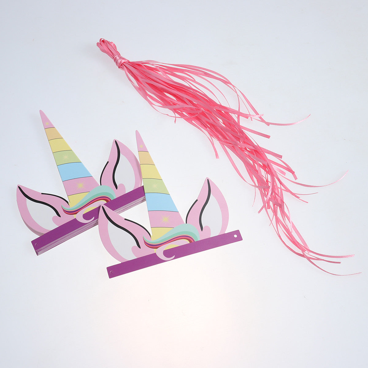 12pcs Birthday Party Colorful Unicorn Party Hats