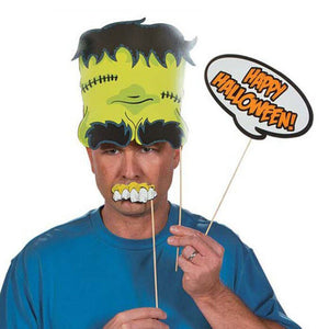 23PC Halloween Photo Booth Props
