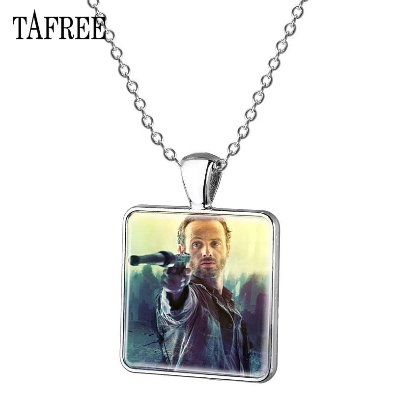 TAFREE The Walking Dead Pendant Necklace