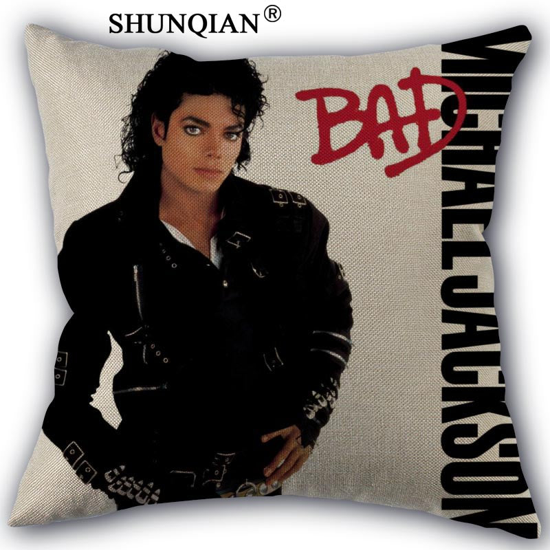 MJ Throw Pillow Cover (Various Designs)