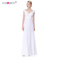 Ever Pretty Lace Romantic Bohemian Backless Wedding Dress