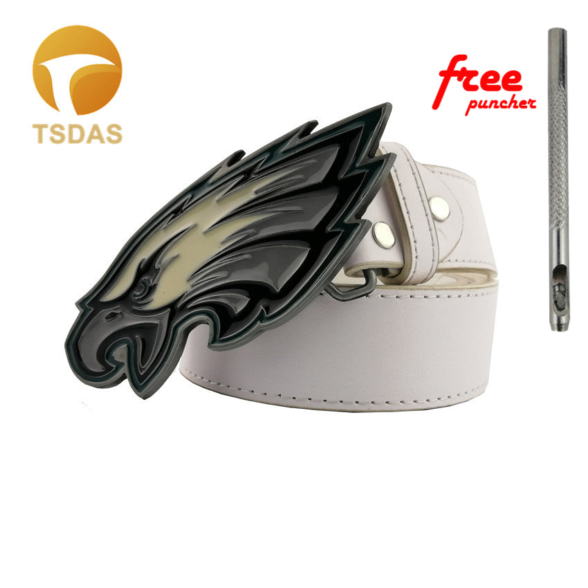 Luxury 3D Colorful Eagle Belt Buckle With Enamel Pewter Finish