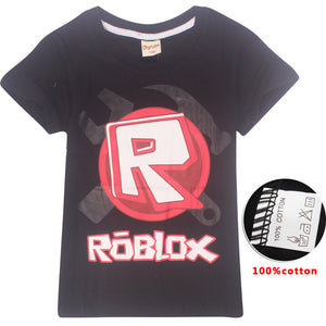 Kids Roblox Logo Graphic Tee (Assorted Colors)
