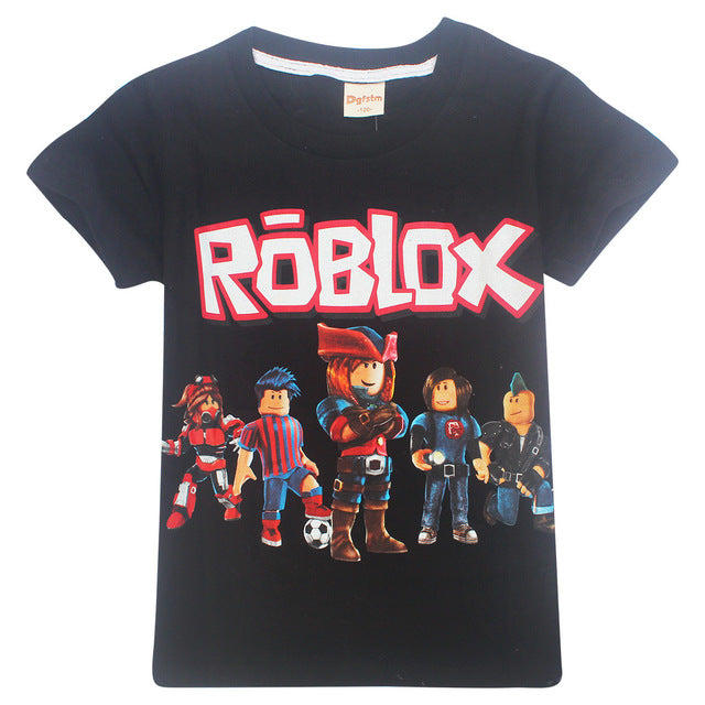 Kids Roblox Group Graphic Tee (Assorted Colors)