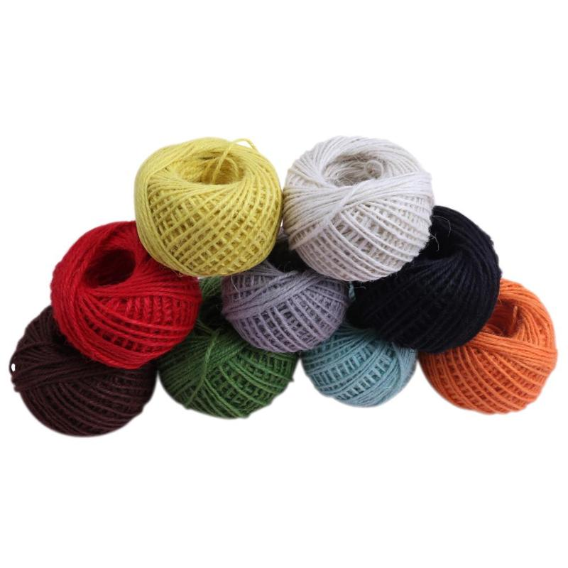 50m 2mm Rustic Knitting (Assorted Colors)
