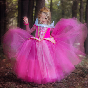 Girls Sleeping Beauty Princess Costume