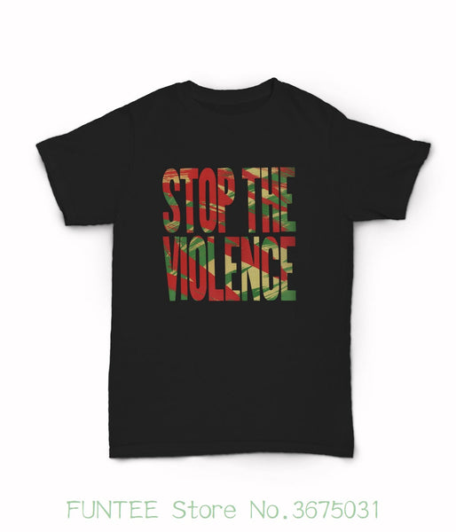 Women's Tee Stop The Violence T-shirt -