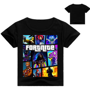 Kids Fortnite T Shirt (Assorted Colors)