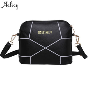 Aelicy Women PU Leather Handbags Crack Shoulder Bag Crossbody Large Tote for Ladies Purse Evening Bag Female Crossbody Clutches