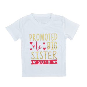 Promoted to Big Sister 2018 Tee