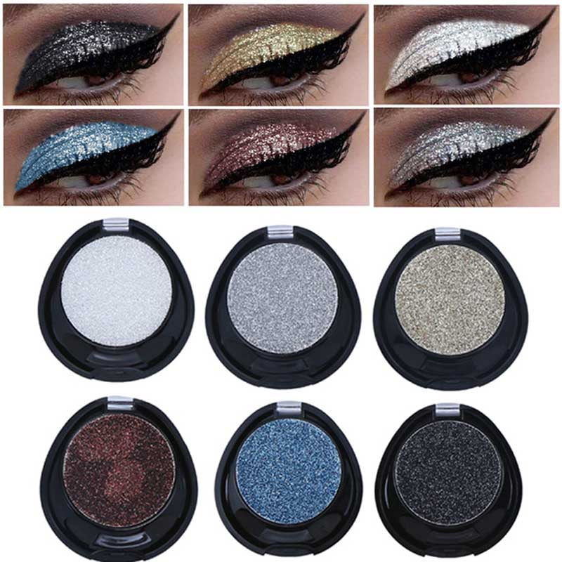 Shimmer Shine Waterproof Mineral Glitter Eyeshadow (Assorted Colors)