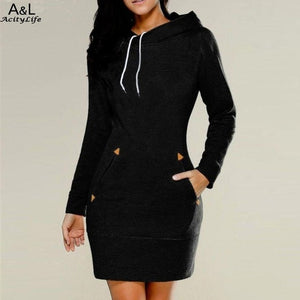 Comfy & Chic Hoodie Dress (S-5X)
