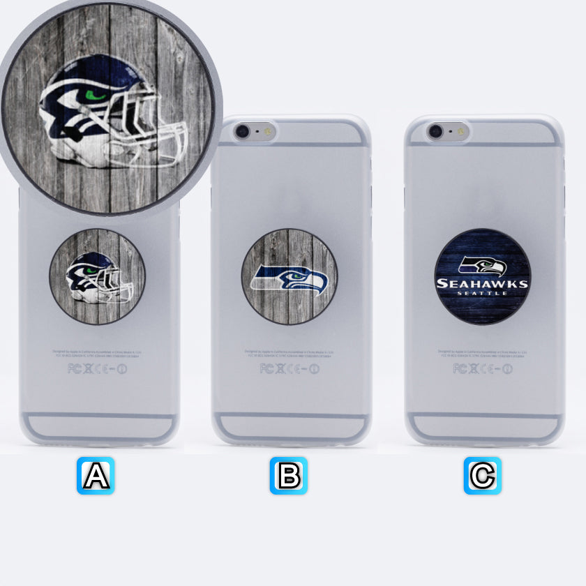 Seattle Seahawks Football Lovely Collapsible Phone Grip Holder Mount Stand Universal