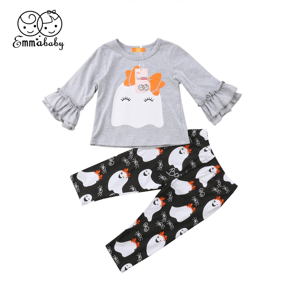 2PC Baby/Girls Cute Ghost Outfit