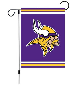 "Vikings 12""X18"" Double Layers Garden Flag"