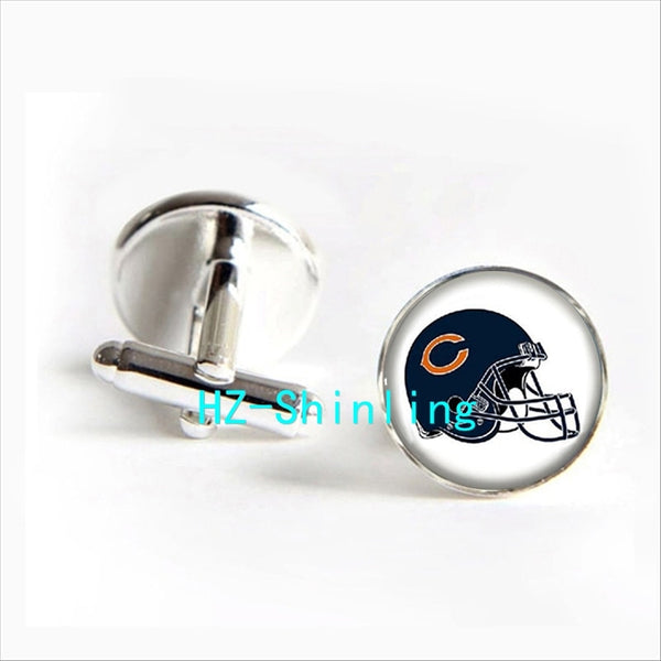 2017 wholesale Chicago Bears Cufflinks