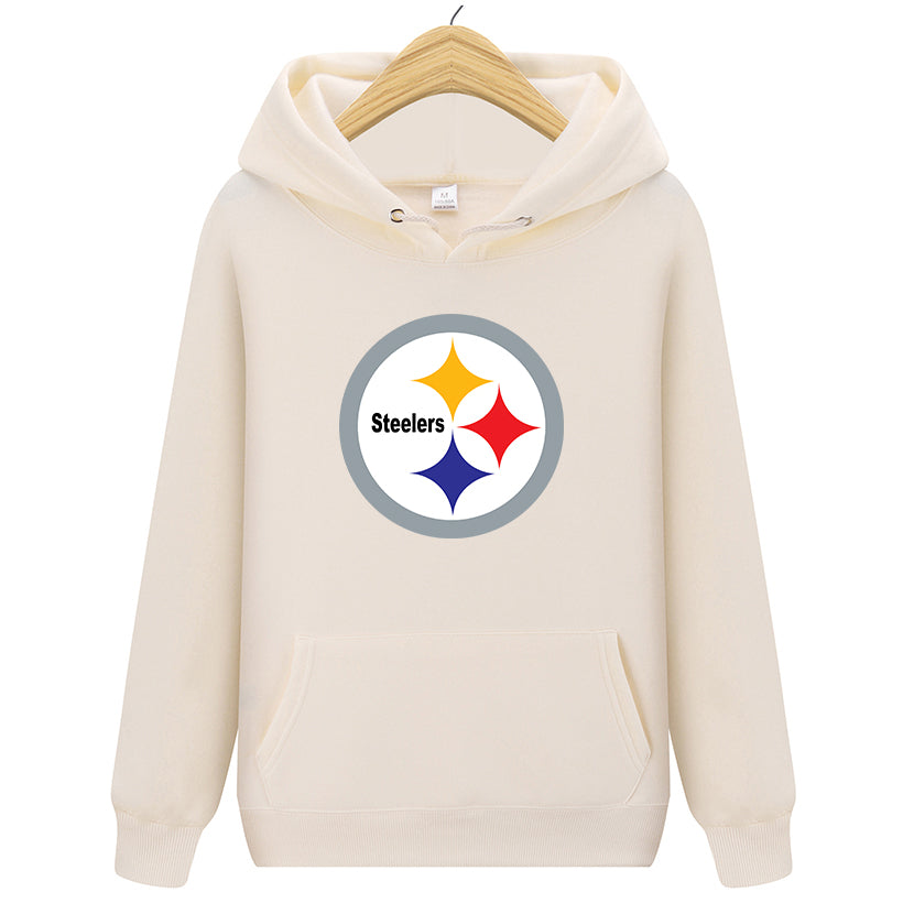 Steelers Printed Men cozy Hoodies Sweatshirt