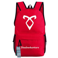 Game Shadow hunters Cosplay Backpack Bag School Students Computer Travel Bag Gift Xmas