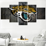 Jacksonville Jaguars Team Prints Paintings Wall Home Decor Picture Canvas