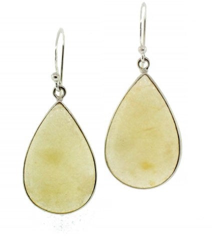 Yellow Opal Earrings