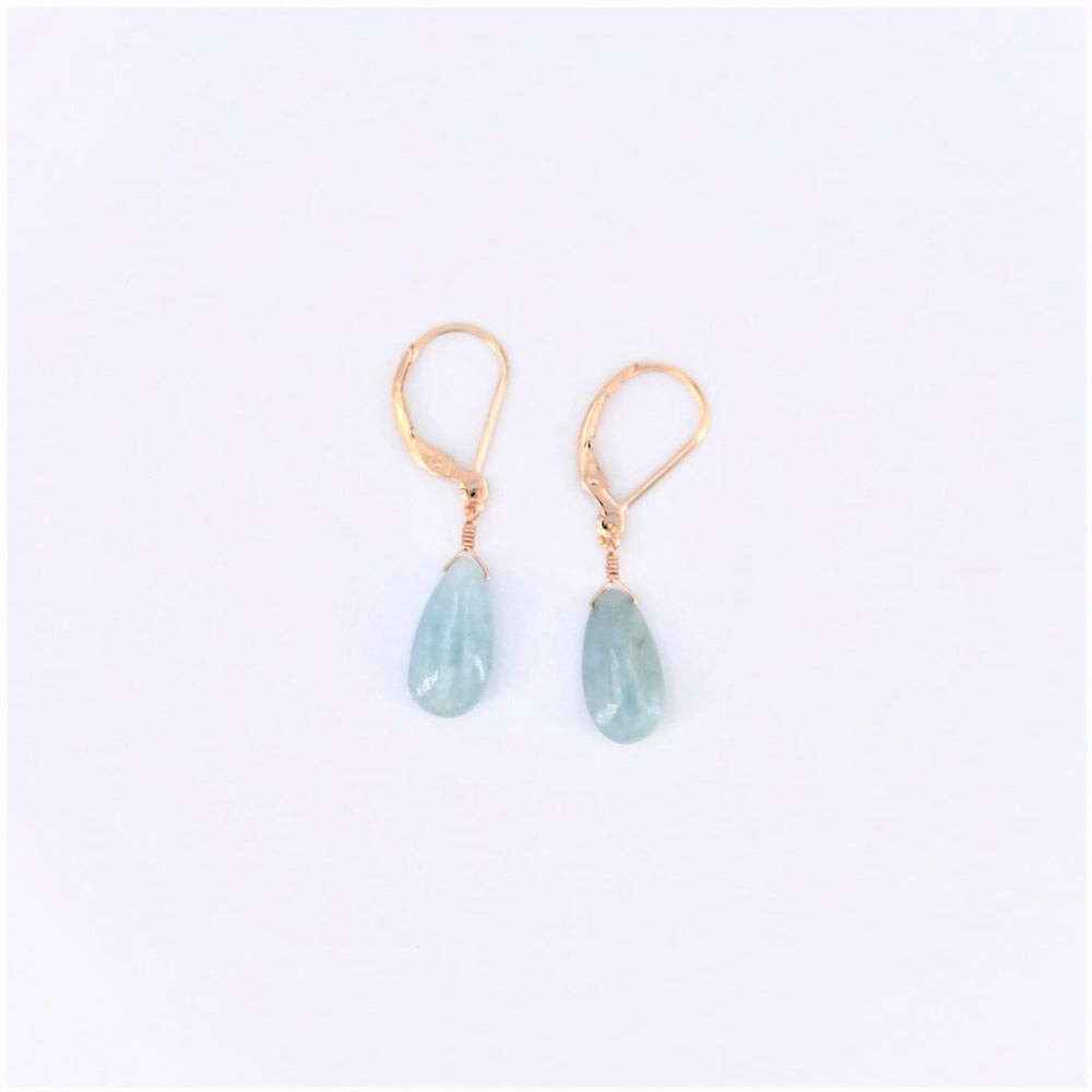 Single Drop Aquamarine