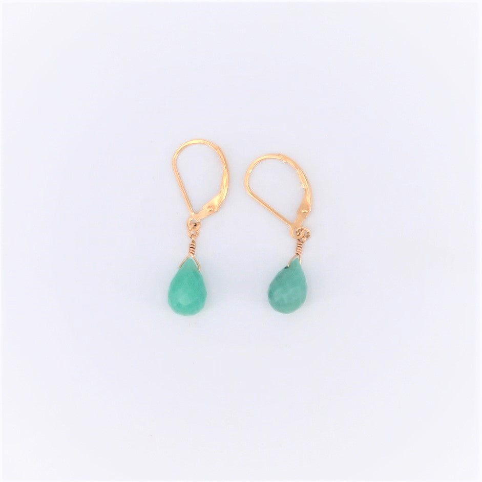 Single Drop Chrysoprase