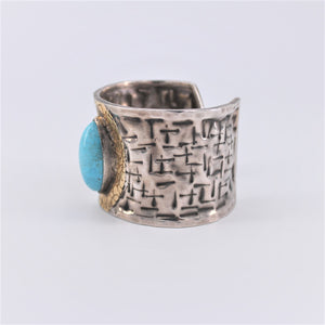 Marquise Turquoise Cuff