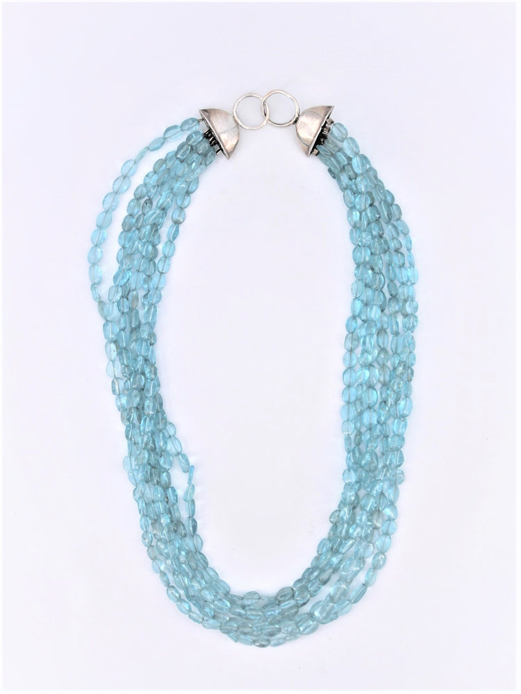 Multi Strand Apatite Necklace