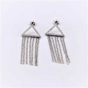 Platnium Dangle Earrings