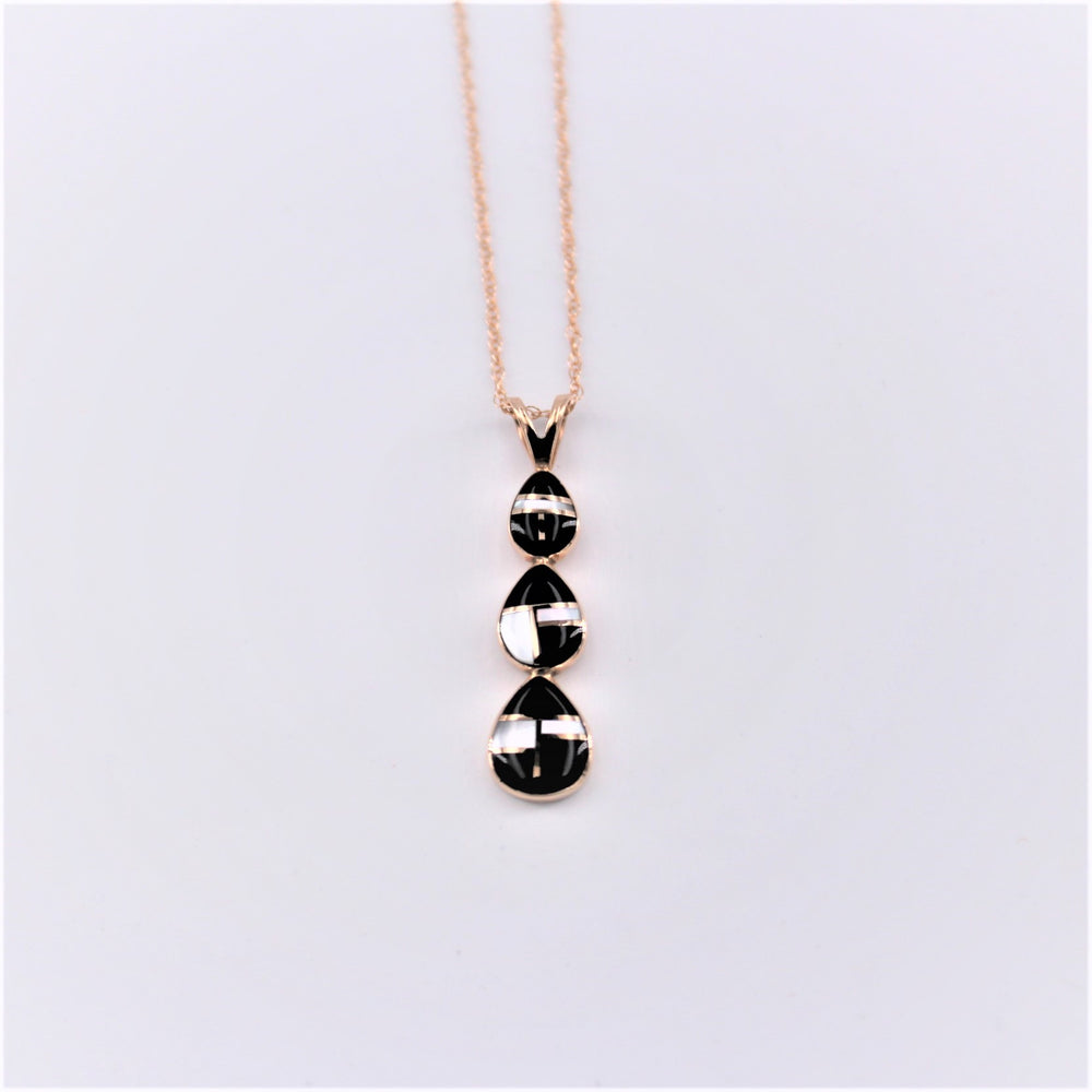 Triple Teardrop Pendant