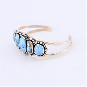 Golden Hills Turquoise Cuff